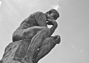 """The Thinker"" Paris 2013"